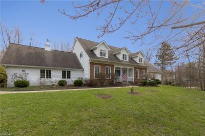 Gates Mills Single Family Home For Sale: 7910 Battles Rd