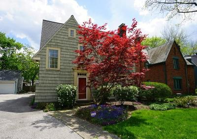 Shaker Heights Single Family Home For Sale: 3335 Grenway Rd