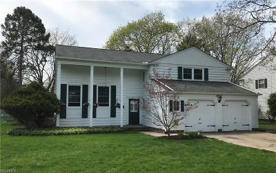 Bay Village Single Family Home For Sale: 30215 Applewood Dr