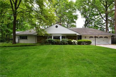 Mayfield Village Single Family Home For Sale: 1025 Worton Park
