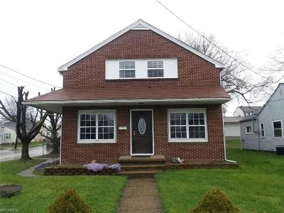 Zanesville OH Single Family Home For Sale: $108,900