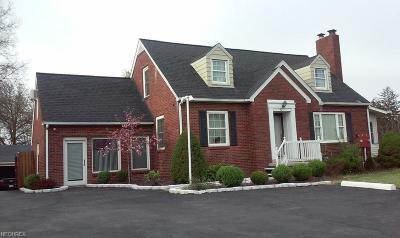 Warren Single Family Home For Sale: 4271 East Market St