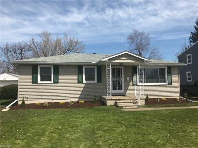 Lorain County Single Family Home For Sale: 1414 West 24th St