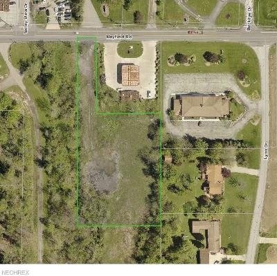 Chesterland Residential Lots & Land For Sale: 8239 Mayfield Rd