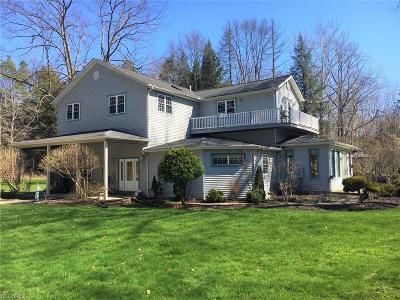 Chagrin Falls Single Family Home For Sale: 7695 Pettibone Rd