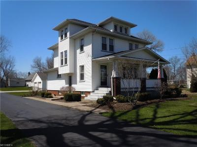 Warren Single Family Home For Sale: 5335 Mahoning