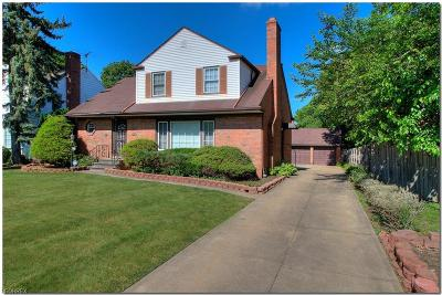 Shaker Heights Single Family Home For Sale: 3518 Palmerston Rd