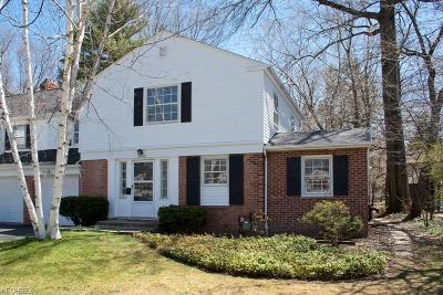 Cleveland Heights Single Family Home For Sale: 2402 Overlook Rd