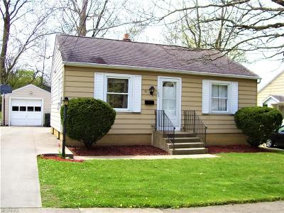 Wadsworth Single Family Home For Sale: 163 Tolbert St