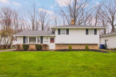 Brook Park Single Family Home For Sale: 13589 Kathleen Dr
