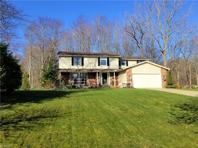 Solon Single Family Home For Sale: 5850 Deer Run Oval