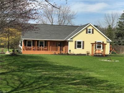North Ridgeville Single Family Home For Sale: 9180 Bender Rd