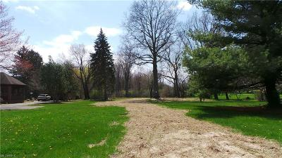Cuyahoga County Residential Lots & Land For Sale: 25747 Butternut Ridge Rd