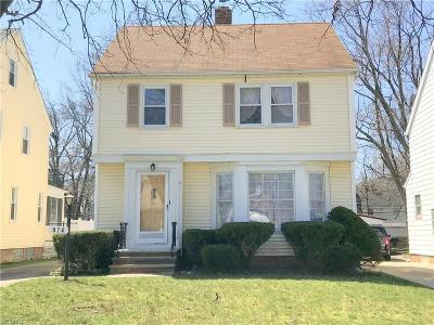Cleveland Heights Single Family Home For Sale: 874 Keystone Rd