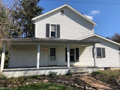 Beloit OH Single Family Home Sold: $47,000