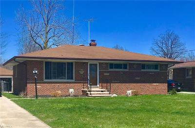 North Olmsted Single Family Home For Sale: 24256 Rosita Ln
