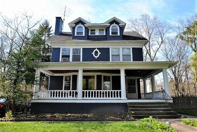 Cleveland Heights Single Family Home For Sale: 2816 Edgehill Rd