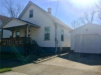 Girard Single Family Home For Sale: 428 North Saint Clair St
