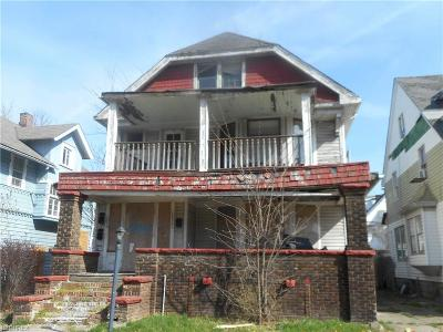 Cleveland Multi Family Home For Sale: 12319 Phillips Ave