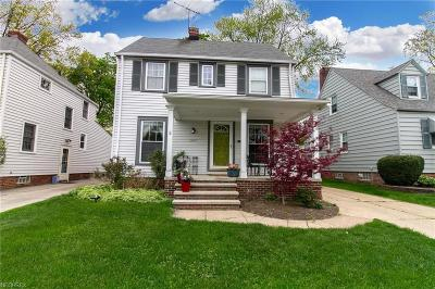 Cleveland OH Single Family Home For Sale: $155,000