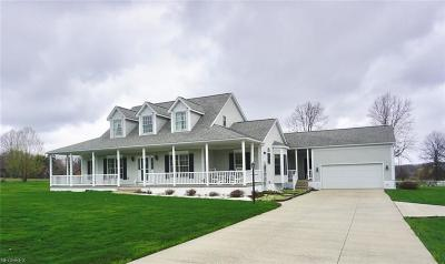Wadsworth Single Family Home For Sale: 1471 Fixler Rd