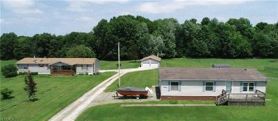 Garrettsville Single Family Home For Sale: 8293 Gotham Rd
