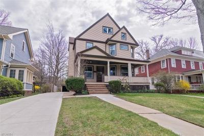 Cleveland Heights Single Family Home For Sale: 1787 Middlehurst Rd