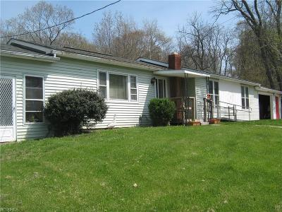 Muskingum County Single Family Home For Sale: 2345 Three Towers Rd