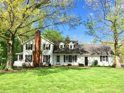 Chagrin Falls Single Family Home For Sale: 20 Greentree Rd