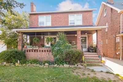 Wickliffe Single Family Home For Sale: 1524 Silver St