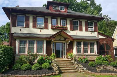 Cleveland Heights Single Family Home For Sale: 2836 Washington Blvd
