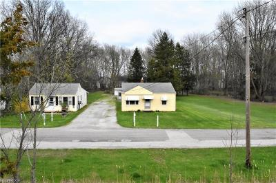 Single Family Home For Sale: 8509 Stearns Rd