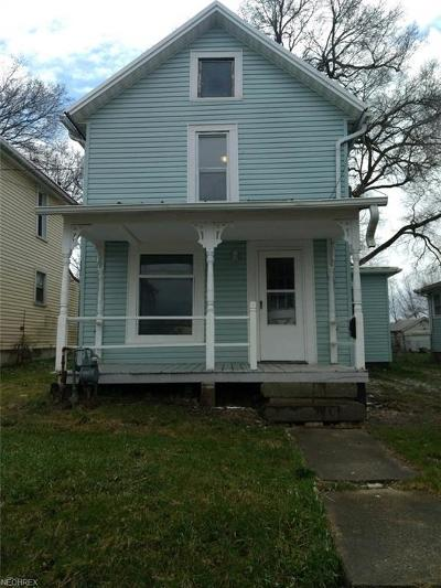 Ashland County Single Family Home For Sale: 107 West 10th St