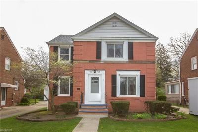 Single Family Home For Sale: 3217 West 165th St