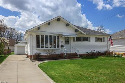 Wickliffe Single Family Home For Sale: 726 Sterling Rd