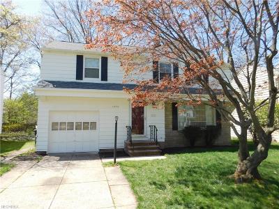 Lyndhurst Single Family Home For Sale: 1292 Croyden Rd