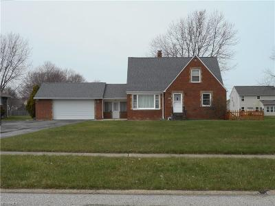 Richmond Heights Single Family Home For Sale: 510 Snavely Rd