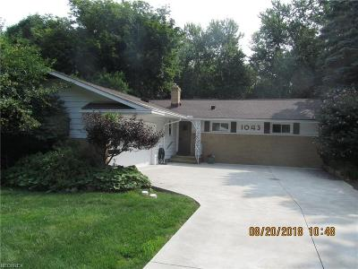 Highland Heights Single Family Home For Sale: 1043 Rose Blvd