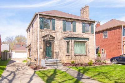 Single Family Home For Sale: 3280 West 162nd St