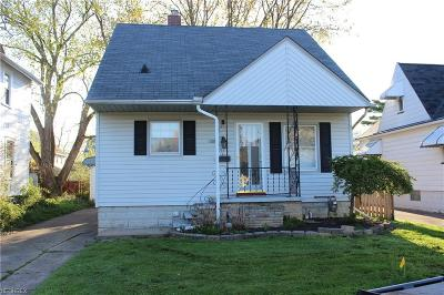 Elyria Single Family Home For Sale: 166 Roosevelt Ave