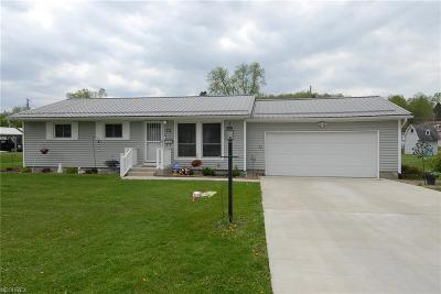 Muskingum County Single Family Home For Sale: 72 Beechrock Dr