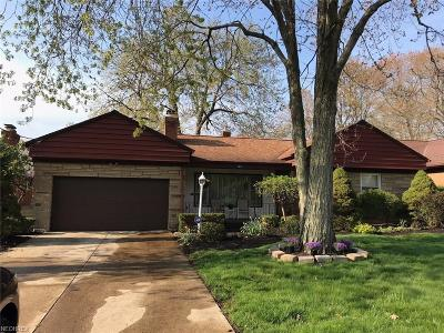 Richmond Heights Single Family Home For Sale: 4825 Monticello Blvd