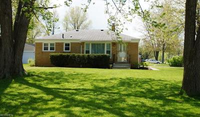 Avon OH Single Family Home Sold: $139,500