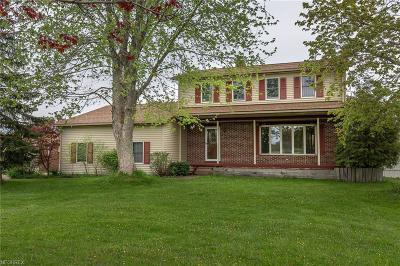 Aurora Single Family Home For Sale: 760 Bartlett Rd