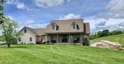 Guernsey County Single Family Home For Sale: 62003 Sampson Rd