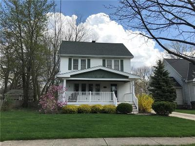 Willoughby Single Family Home For Sale: 4751 Eldo St