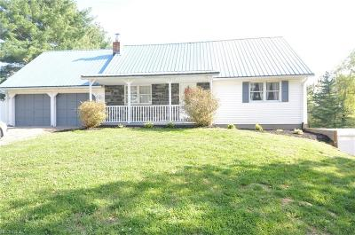 Single Family Home For Sale: 535 Walnut Hills Dr