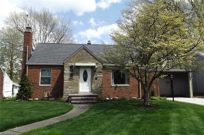 Alliance OH Single Family Home Sold: $116,000