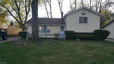 Painesville OH Single Family Home For Sale: $99,900