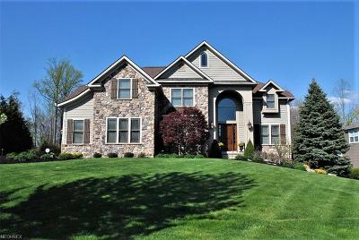 Geauga County Single Family Home For Sale: 7560 Cottonwood Trl